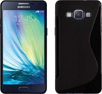 Carcasa Husa de protectie Samsung Galaxy A7 A700 2015 S-line Black