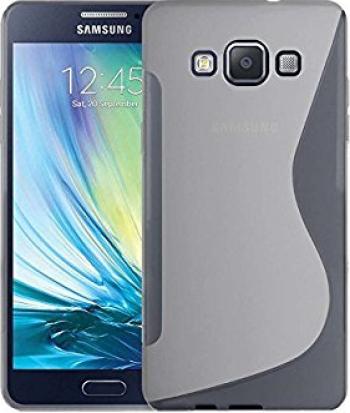 Carcasa Husa de protectie Samsung Galaxy A7 A700 2015 S-line Frost White Huse Telefoane