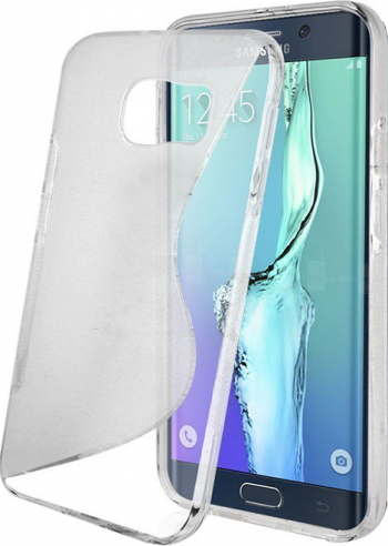 Carcasa Husa de protectie Samsung Galaxy S7 Edge S-line Semi-transparent Grip lateral Viceversa