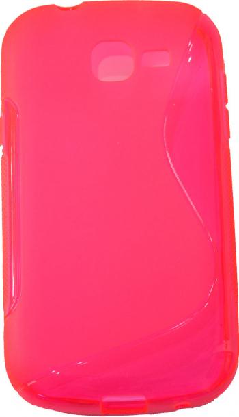 Carcasa Husa de protectie Samsung Galaxy Trend Lite S7390 Pink Roz Grip lateral Protectie A+ + CADOU Huse Telefoane