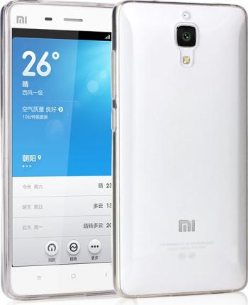 Carcasa Husa silicon de protectie Xiaomi Mi 4 Anti-soc Transparenta Viceversa