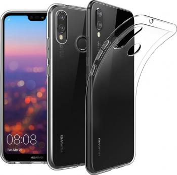 Carcasa Husa silicon Huawei P20 Lite Protectie Transparent Antisoc TPU Silicon Viceversa