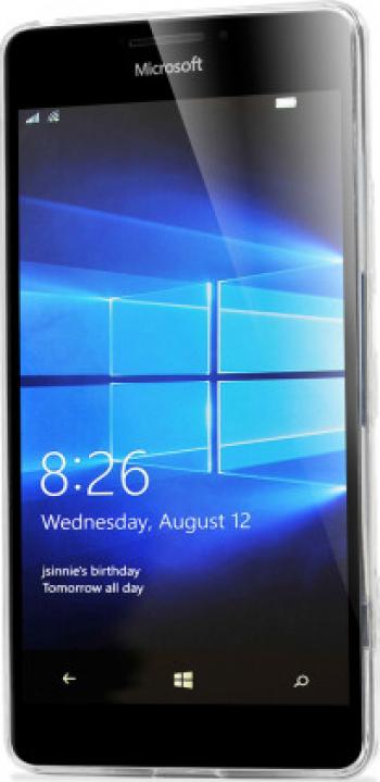 Carcasa Husa silicon Microsoft Lumia 950XL de Protectie A+ Transparenta Anti-soc Viceversa Huse Telefoane