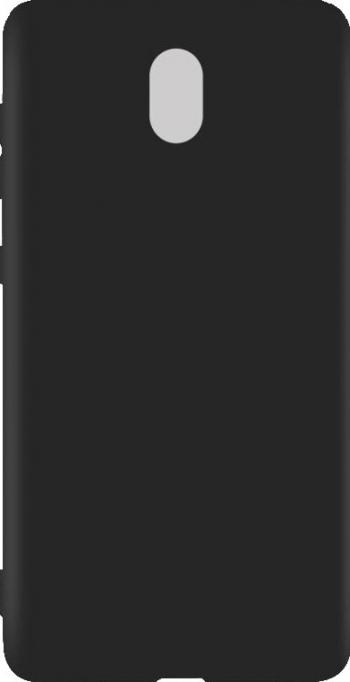 Carcasa Husa silicon Nokia 3 / Nokia 3 2017 de Protectie Neagra Antisoc Black Viceversa Huse Telefoane