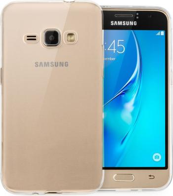 Carcasa Husa silicon Samsung Galaxy J1 2016 J120 Protectie A+ Transparenta