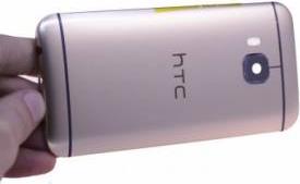 Carcasa spate HTC One M9 Originala Aurie Accesorii Diverse Telefoane