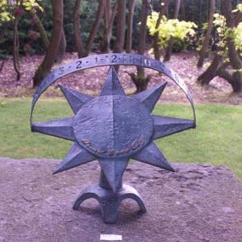 Ceas solar Modern Sundial Obiecte de arta