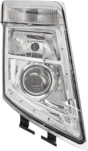 Far dreapta 2LED/H7/PY21W manual fundal crom VOLVO FH FH 16 FM dupa 2008 Sistem iluminat