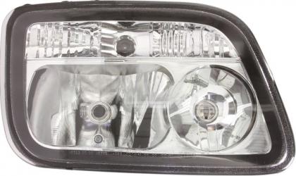 Far dreapta H1/H7/PY21W/W5W electric cu motoras MERCEDES ACTROS MP2 / MP3 dupa 2002 Sistem iluminat