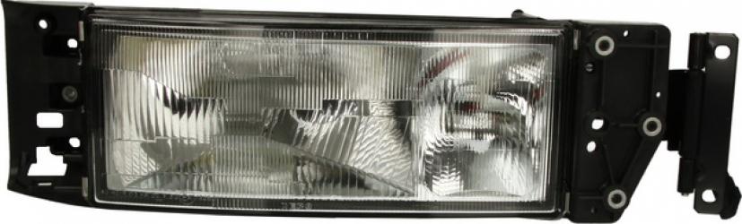 Far dreapta H3/H4 fundal argintiu IVECO CITY CLASS EUROCARGO I-III EUROSTAR EUROTECH MH EUROTECH MP EUROTECH MT EUROTRAKKER dupa 1991 Sistem iluminat