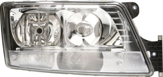 Far dreapta H7/LED/PY21W electric cu motoras MAN TGX dupa 2007 Sistem iluminat