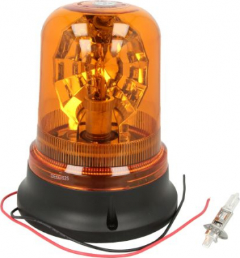 Girofar portocaliu 12/24V H1 prindere 3 puncte Sistem iluminat