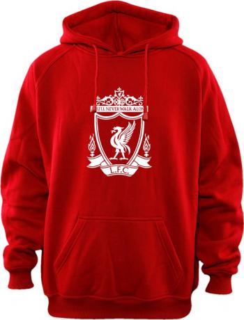 Hanorac copii Liverpool rosu marimea 128 pentru 7-8 ani