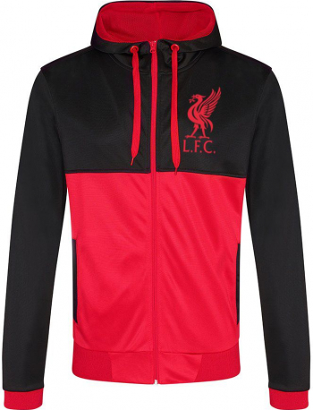 Hanorac suporter Liverpool rosu/negru Marimea M