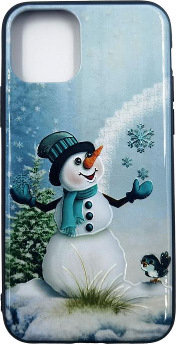 Husa Apple iPhone 11 Pro model Snowman Antisoc TPU Viceversa Huse Telefoane