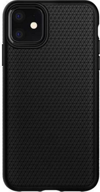 Husa Apple iPhone 11 - Spigen Liquid Air Negru