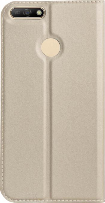 pret preturi Husa Book S-View Huawei P Smart Contakt Aurie