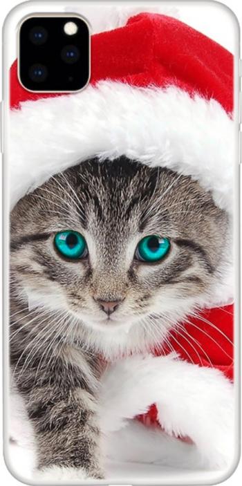 Husa silicon Apple iPhone 11 Pro model Model Kitty Christmas Antisoc TPU Viceversa Huse Telefoane