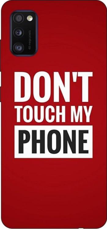 Husa Silicon Soft Upzz Print Samsung Galaxy Galaxy A41 Model My Phone
