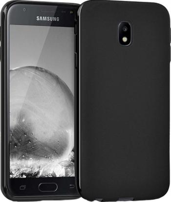 Husa Slim Silicon Samsung J3 2017 - Negru Huse Telefoane
