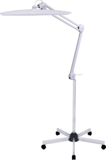Lampa cosmetica led cu stativ - Glamlight - alb
