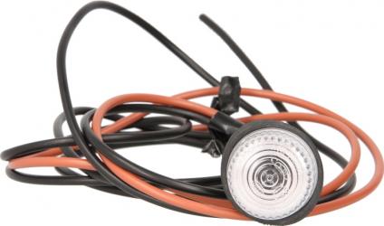 Lampa gabarit stanga/dreapta alb W5W lungime cablu 1800 12/24V