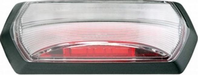 Lampa gabarit stanga/dreapta rosu/alb LED inaltime 99 2 latime 37 5 adancime 37 7 24V Sistem electric