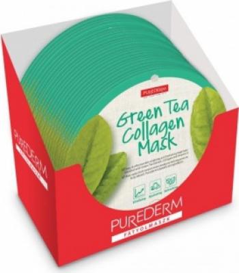Masca cu ceai verde PureDerm 24 buc Masti, exfoliant, tonice