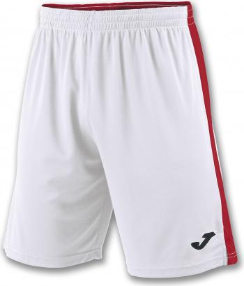 Pantaloni sport Joma Tokyo II Alb/Rosu marimea 3XS 8-10 ani Pantaloni si colanti