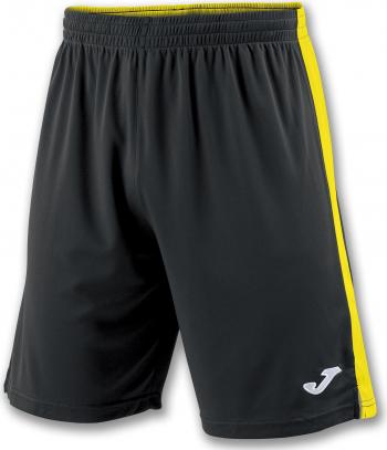 Pantaloni sport Joma Tokyo II Negru/Galben marimea 3XS 8-10 ani