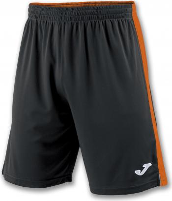 Pantaloni sport Joma Tokyo II Negru/Portocaliu marimea 2XS 12 ani