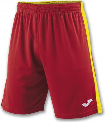 Pantaloni sport Joma Tokyo II Rosu/Galben marimea 2XS 12 ani Pantaloni si colanti