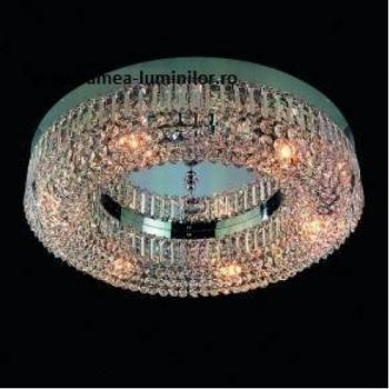 PLAFONIERA SATURN ORION D60 CROM Corpuri de iluminat