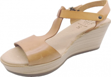 Sandale din piele naturala Fidanzata Bahia Maro deschis 39 EU Incaltaminte dama