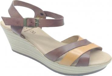 Sandale din piele naturala Fidanzata Condesa Maro 40 EU Incaltaminte dama