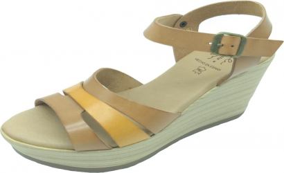Sandale din piele naturala Fidanzata Laguna Maro 41 EU Incaltaminte dama