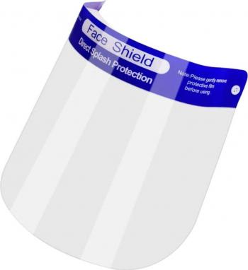 Set 2 viziere de protectie Omega Face Shield cu banda de fixare ajustabila marime universala Masti chirurgicale si reutilizabile