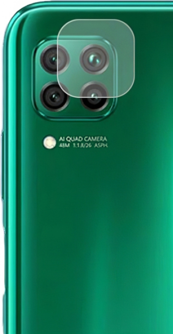 Set 4 x Folie Camera Huawei P40 Lite E Hybrid Sticla Securizata Flexibila 3MK