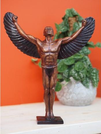 Statuie de bronz clasica Icarus 40x13x35 cm Obiecte de arta