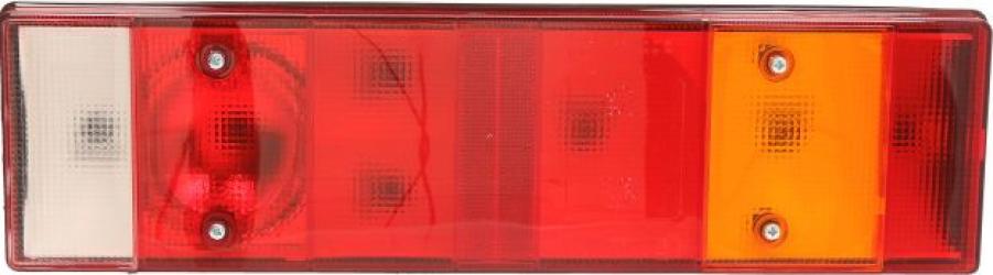 Stop lampa spate dreapta cu bulb deschis 24V reflector soclu dreptunghiular 6 pini VOLVO FH 12 FH 16 FL 10 FL 12 Sistem electric