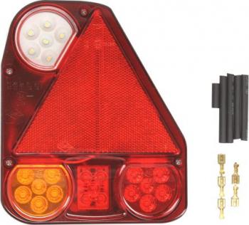 Stop lampa spate dreapta LED 12/24V semnalizator lumini marsarier lampa stop lumina parcare triunghi reflector Sistem electric