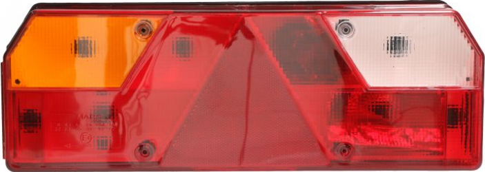 Stop lampa spate stanga EUROPOINT I triunghi reflector cu fire Sistem electric