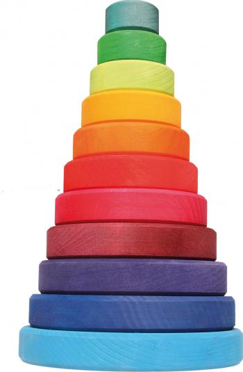 Turn colorat 11 piese Jucarii