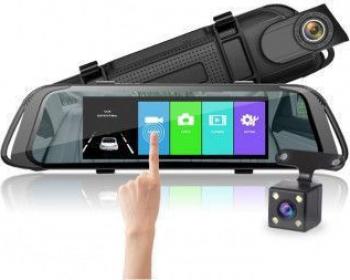 Camera Auto Dubla Oglinda E31-7 Full HD Wide 170 grade 7 Touchscreen Detectie la miscare Senzor G Parking Guard