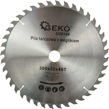 Disc circular pentru lemn 300x32x40T Geko G00149