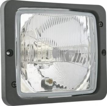Far stanga/dreapta H4/T4W manual cu rama 172x142mm Sistem iluminat