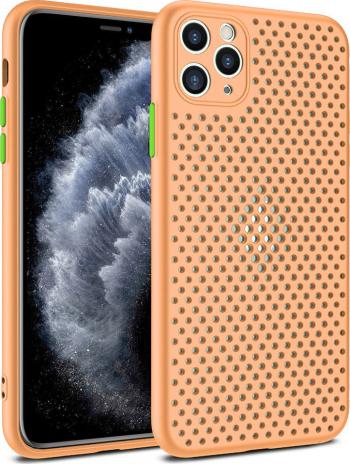 Husa G-Tech Breath Apple iPhone 11 Pro Carcasa impotriva supraincalzirii telefonului TPU Anti alunecare Rose Huse Telefoane