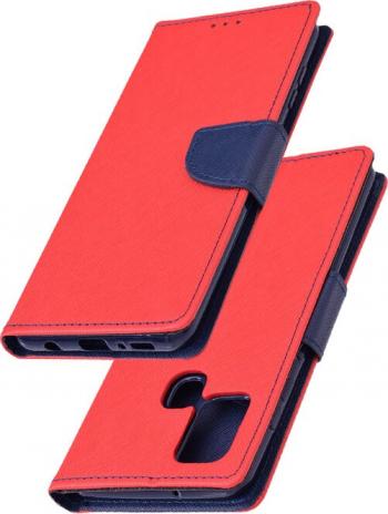 Husa Samsung Galaxy A21s Flip MyFancy - Rosu Huse Telefoane