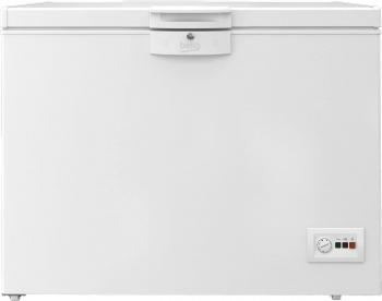 Lada frigorifica Beko HSA24540N 230 Clasa A++ Securizare yala Congelare rapida Iluminare LED Alb