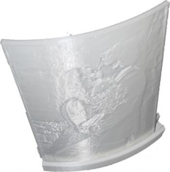 Lama de veghe cu poza printata 3D in relief personalizata 150 x 110 mm Corpuri de iluminat